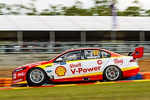 Supercars Practice report Darwin Supercars: McLaughlin leads Whincup in final practice