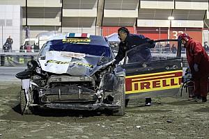 Сольберг знову розбив машину на Болонському автосалоні