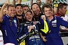 Rossi büszke rá, hogy a leintésig tartotta Dovi és Marquez tempóját