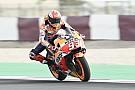 Losail, Warm-Up: Marquez davanti alle Ducati di Dovi e Petrucci