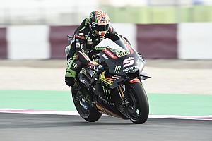 Katar MotoGP: Üçüncü seansta Zarco lider, Rossi kaza yaptı