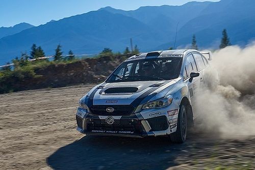 Antoine L'Estage conquers Rocky Mountain Rally