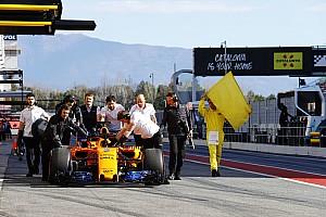 Fórmula 1 Galería Galería: Los test de F1 vuelven al Circuit; primeras imágenes