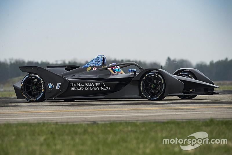 BMW, yeni Formula E aracıyla ilk testini tamamladı
