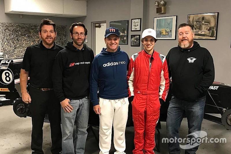 Filho de Barrichello, Eduardo confirma estreia na F4