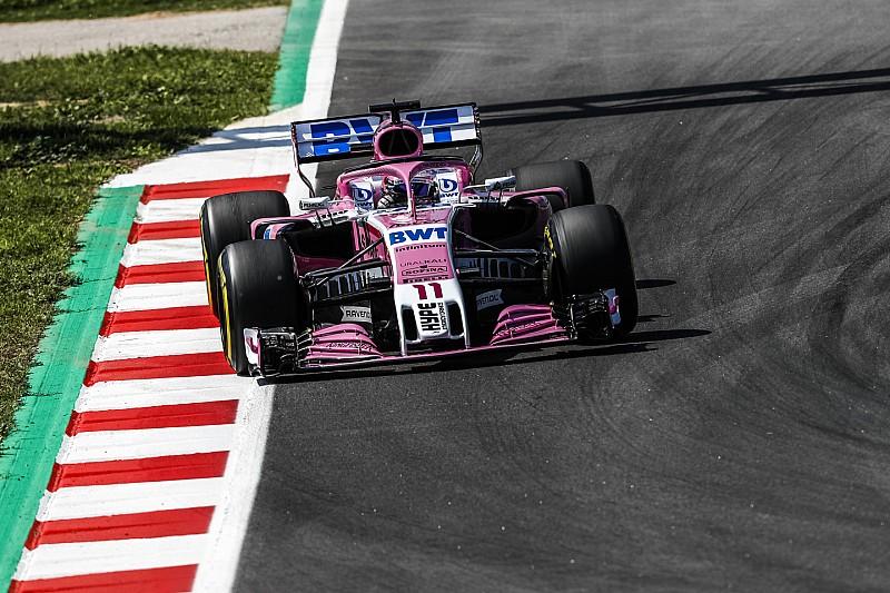 Машина Force India вимагає забагато компромісів – Перес