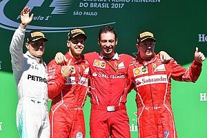 Formula 1 Yarış raporu Brezilya GP: Vettel kazandı, Hamilton pit yolundan podyumu zorladı!