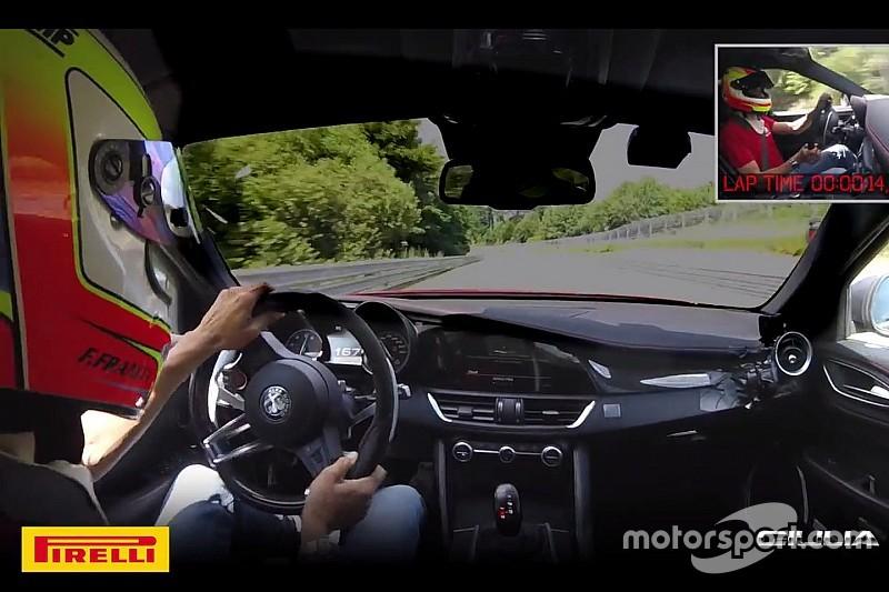 Nieuw record voor Alfa Romeo: Nordschleife in 7:32 minuten