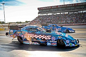 NHRA Breaking news Force sisters aim for titles and self-improvement in 2017