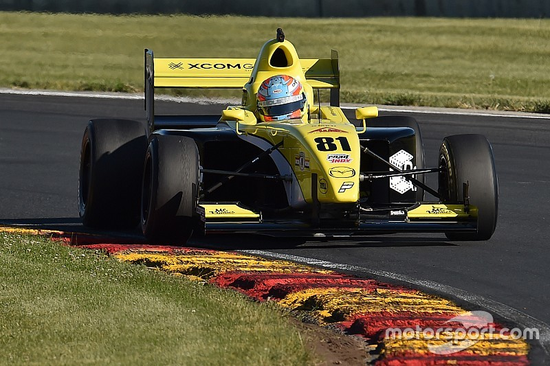 Fischer signs for full Pro Mazda season with Pelfrey