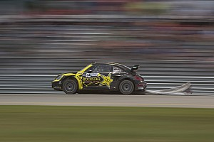 Global Rallycross Qualifying report Foust wins manufacturer's duel at top of GRC Louisville qualifying