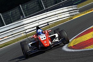 Formula Renault Race report Estoril Eurocup: Palmer inherits win after Norris and Defourny collide