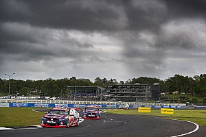 Supercars Race report Pukekohe Supercars: Van Gisbergen wins as Coulthard rolls