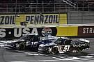 NASCAR Truck Brett Moffitt on lapped trucks: