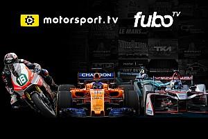General Motorsport.com news Motorsport.tv expands distribution in partnership with fuboTV
