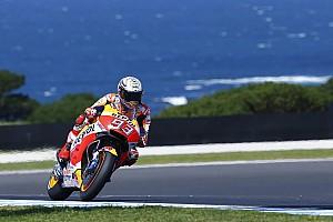 MotoGP Репортаж з кваліфікації Гран Прі Австралії: володарем поулу став Маркес