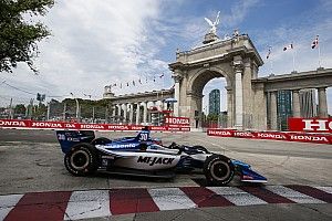 IndyCar Practice report Toronto IndyCar: Sato sets unofficial track record in FP3