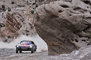Dakar Breaking news Sainz had to complete Dakar stage stuck in third gear