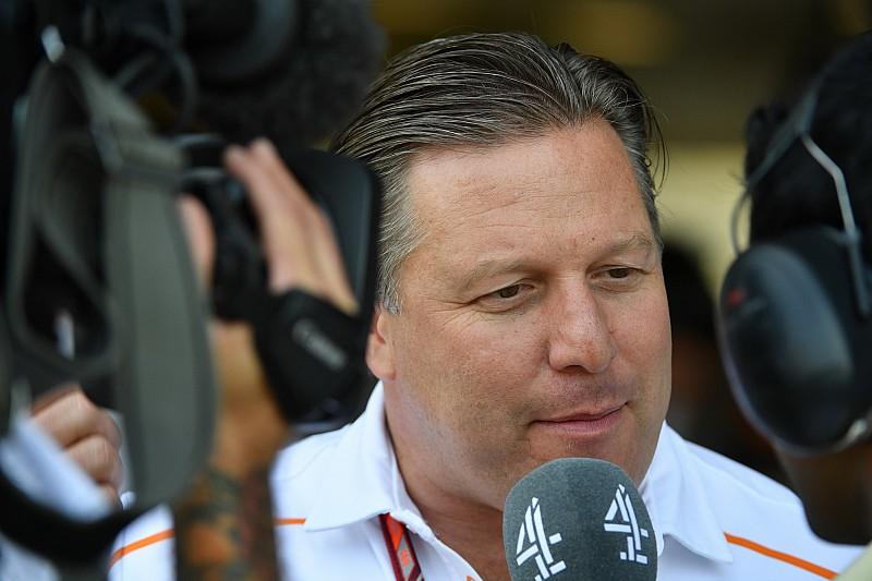 Зак Браун: Процесс принятия решения в McLaren иногда просто застопоривался
