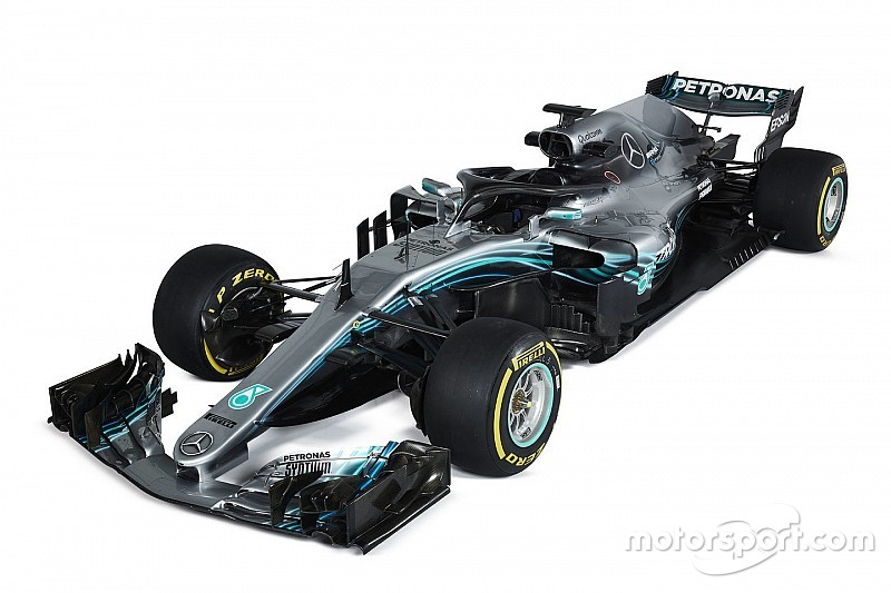 Bildergalerie: Mercedes W09 für die Formel 1 2018