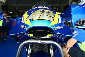 MotoGP Reaktion Trotz Crashs: Suzuki mit neuer Aero-Verkleidung zufrieden