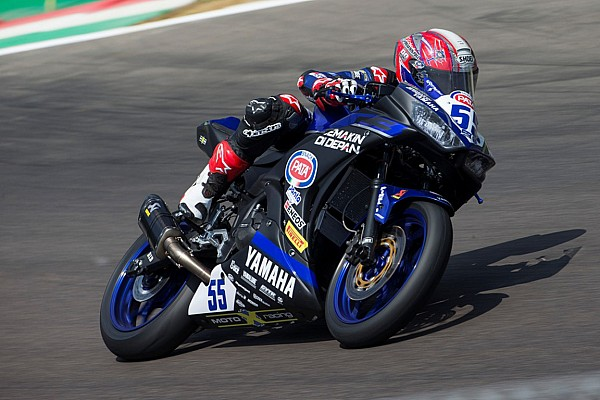World Superbike Race report WorldSSP300 Imola: Galang Hendra tembus lima besar