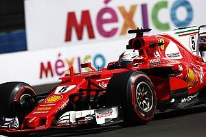Fórmula 1 Noticias Vettel, con dudas (y un problema de extintor) en el primer día de México