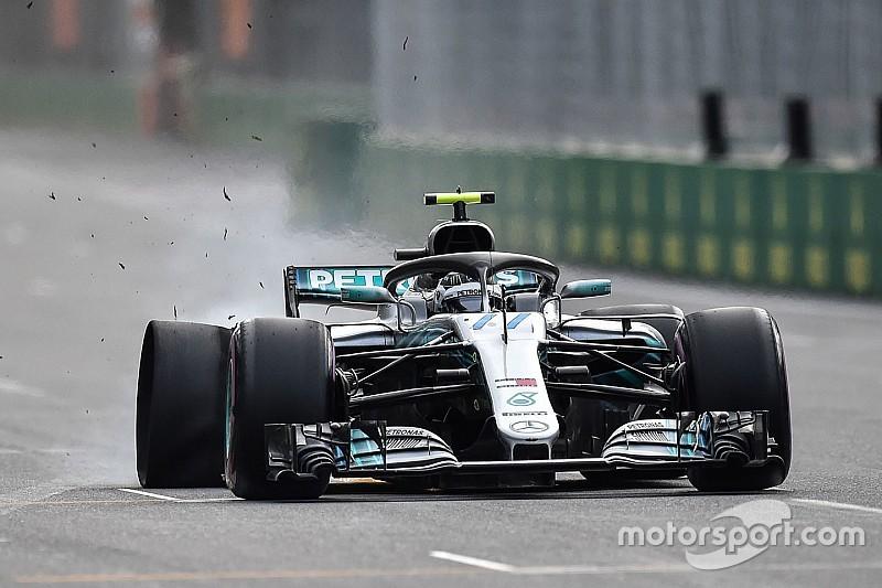 «Ганебний» прокол Боттаса в Баку став для Mercedes найгіршим моментом сезону
