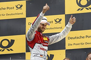DTM Отчет о гонке Раст стал чемпионом DTM