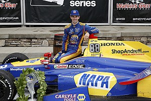 IndyCar Réactions Rossi