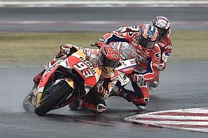 MotoGP Ultime notizie Marquez ha vinto con i dischi freno in carbonio nel diluvio di Misano!