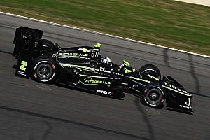 IndyCar Raceverslag Newgarden profiteert van bandenprobleem Power