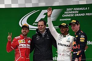 Formula 1 Yarış raporu 2017 Çin GP - Hamilton kazandı, podyum renklendi!