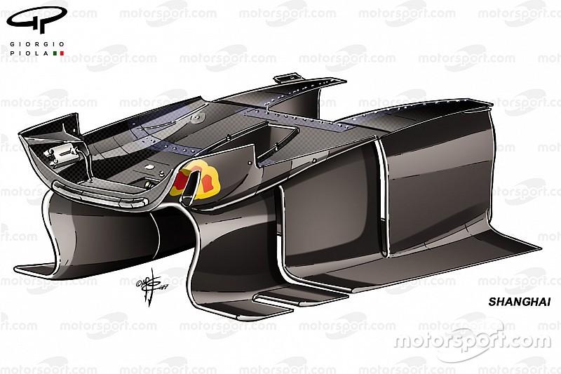 Análisis técnico: Red Bull revisó su aerodinámica