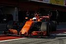 Alonso rijdt als eerste met 2018-McLaren in Barcelona