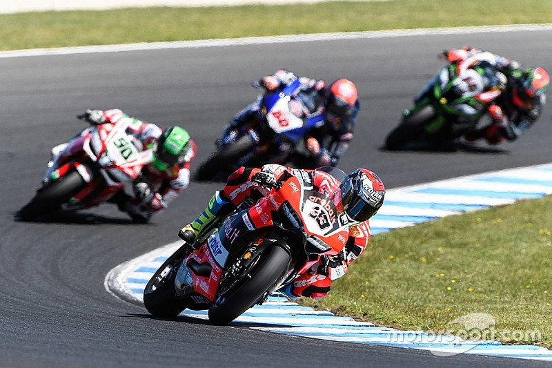 Melandri, pilote Ducati le plus rapide de la première journée