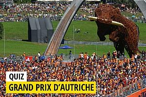 MotoGP Contenu spécial Quiz - Testez vos connaissances sur le GP d'Autriche!
