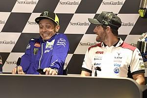 Rossi fantastis, Crutchlow: Semua orang ingin patah kaki
