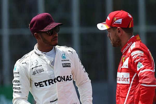 F1 Entrevista Hamilton advirtió a Vettel tras Bakú: