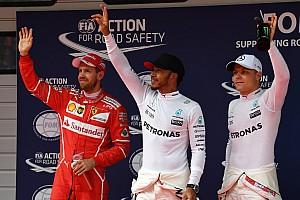 F1 排位赛报告 中国大奖赛排位赛:汉密尔顿再获杆位,维特尔屈居第二