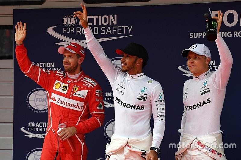 La grille de départ du Grand Prix de Chine