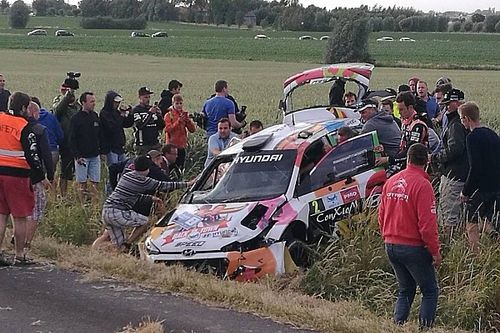 VIDEO: choque de Neuville en el Rally Ypres