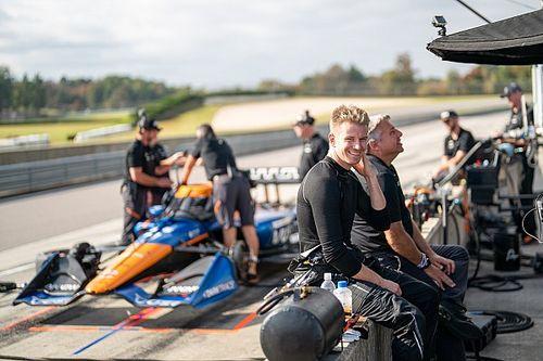 Hülkenberg maakt indruk op McLaren SP in eerste IndyCar-test