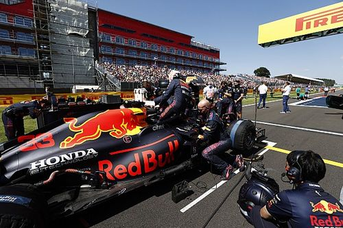 No todo fue malo para Verstappen, Honda salvó el motor del choque