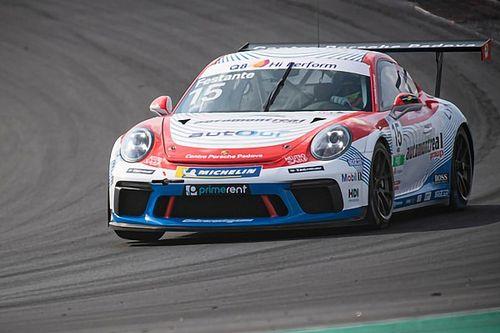 Carrera Cup Italia, Vallelunga: per Festante prima pole con record!