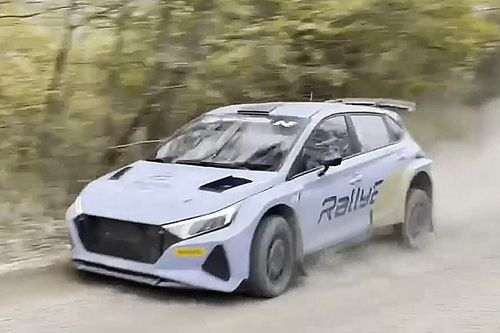 Hyundai i20 N Rally2 - Video z testów