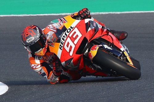 Test MotoGP Jerez, Turno 1: Marquez al top, Rossi terzo