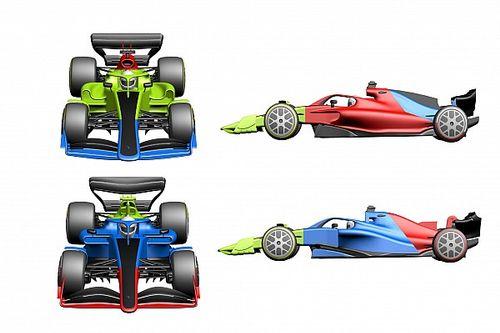 F1 araçları, 2021'de birbirlerinden daha farklı görünecek
