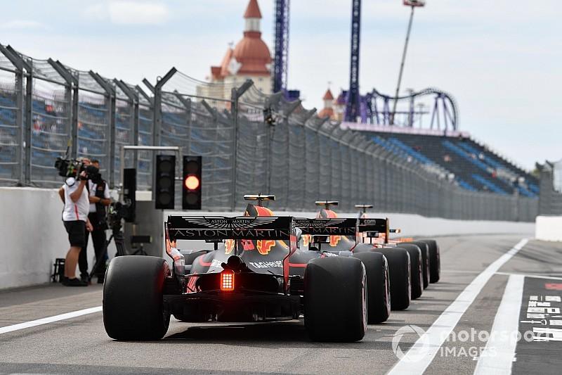Formel 1 Russland 2018: Das Trainingsergebnis in Bildern