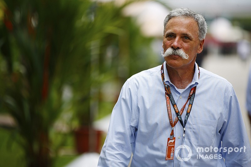 Carey defends F1's betting sponsorship deal